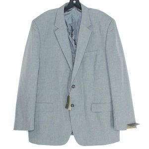 NWT Merona Suit Jacket Modern Fit Gray 48R IN